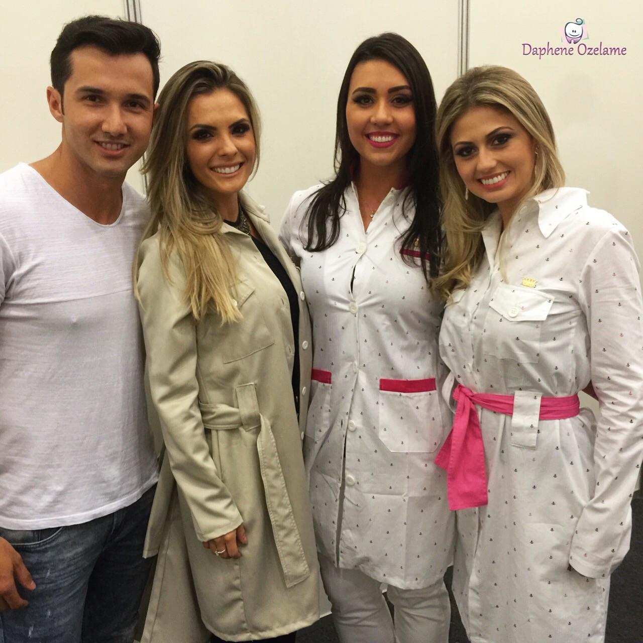 Me sentindo fitness com Dr Fabiano e Dra Alana no @dentistasfit e Dra Ana Cecilia Navarro
