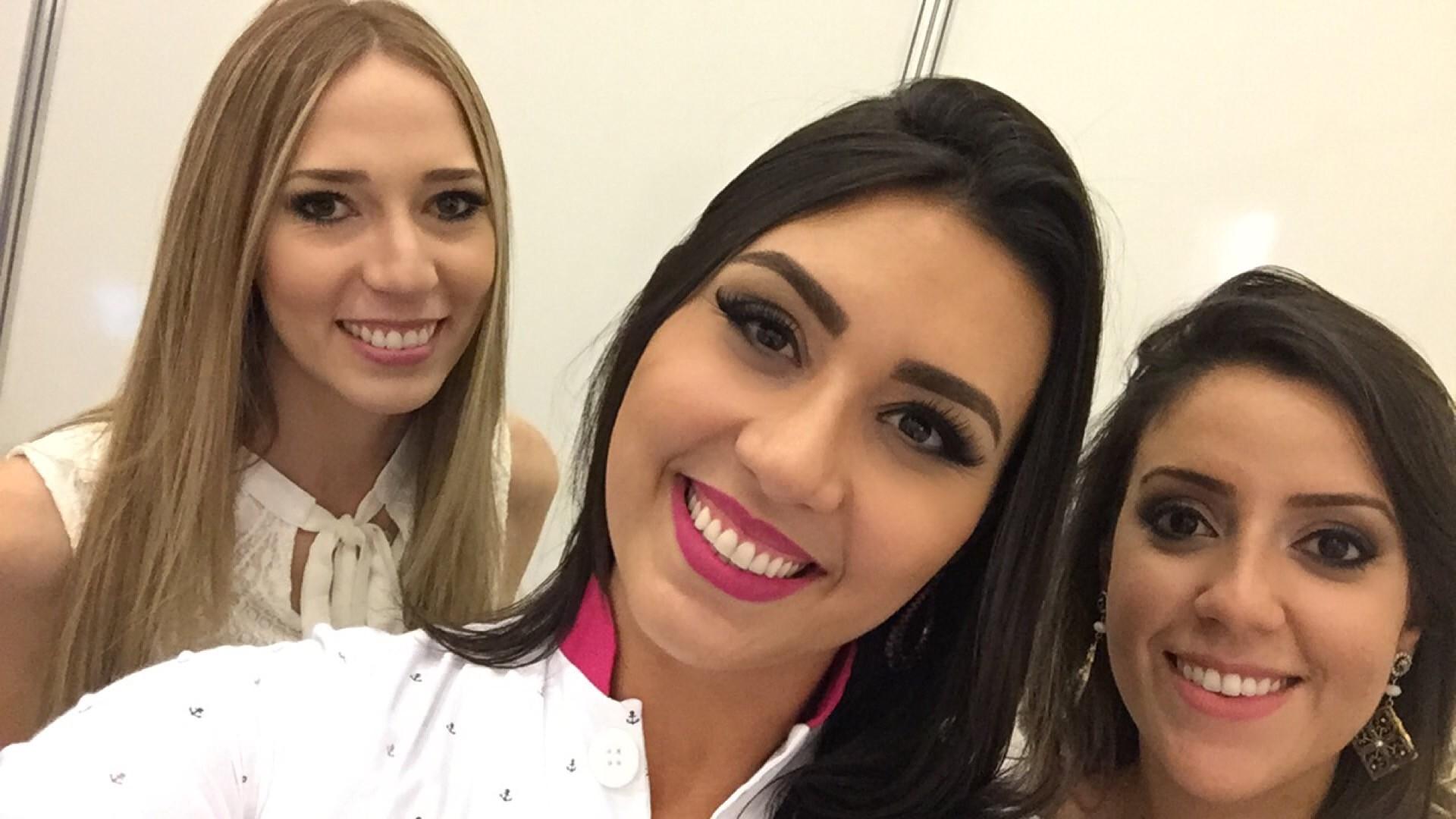 Com as lindas Dra Maria Ines e Dra Thalita Galassi